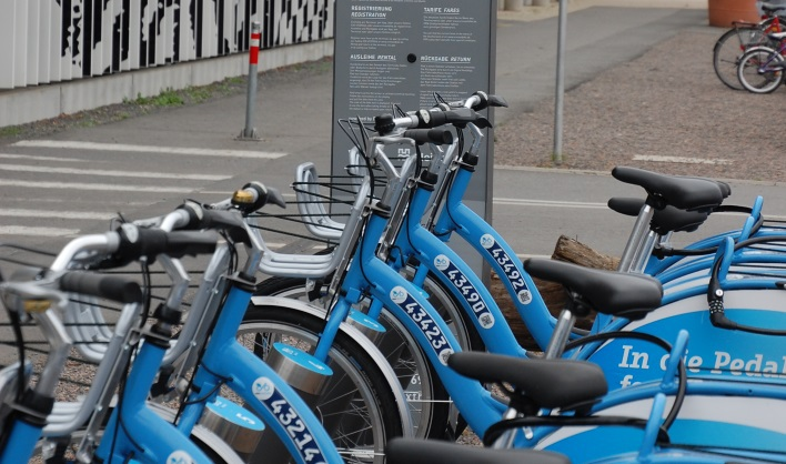 Bike station in Heidelberg | VRNnextbike
