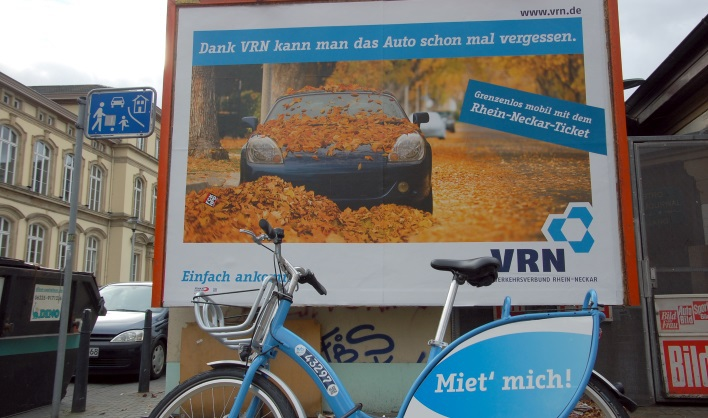 Public bike hire in Mannheim | VRNnextbike