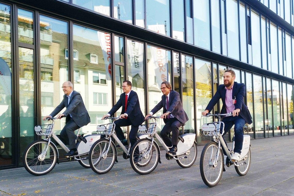 Germany\'s biggest Bike Rental   VRNnextbike Mannheim